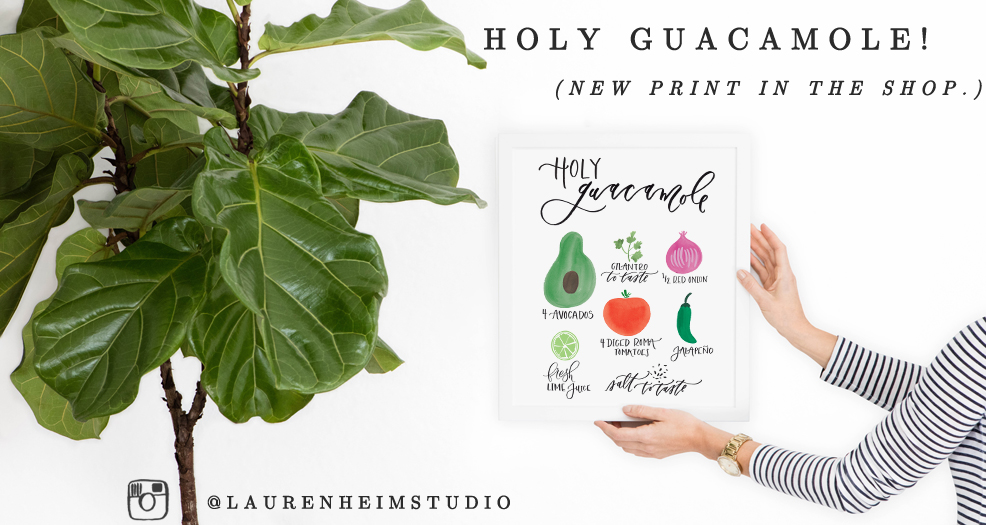 Welcome to Lauren Heim Studio - Hand-lettered products