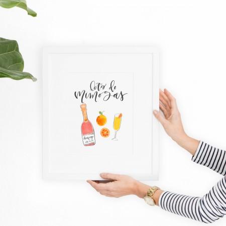 Let's Do Mimosas Print