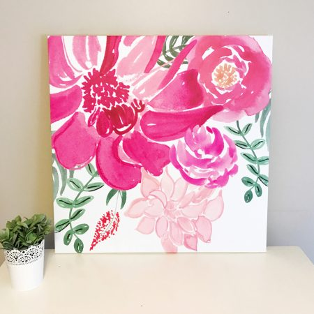 Flower Canvas - Sale Item