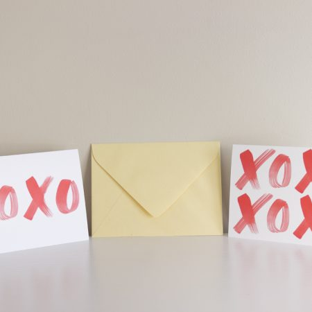 XOXO greeting cards